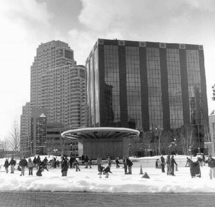 Downtown Skating