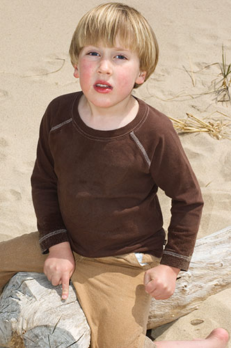 Ben at the Beach
