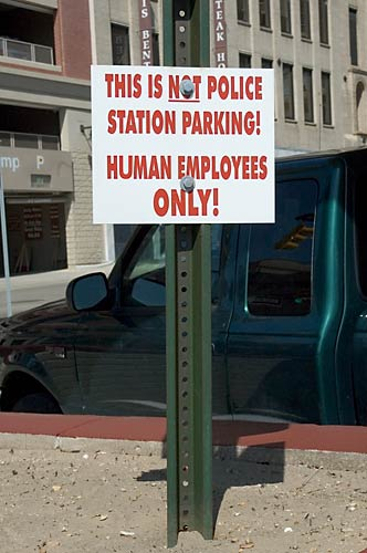 Human Empoyees Only